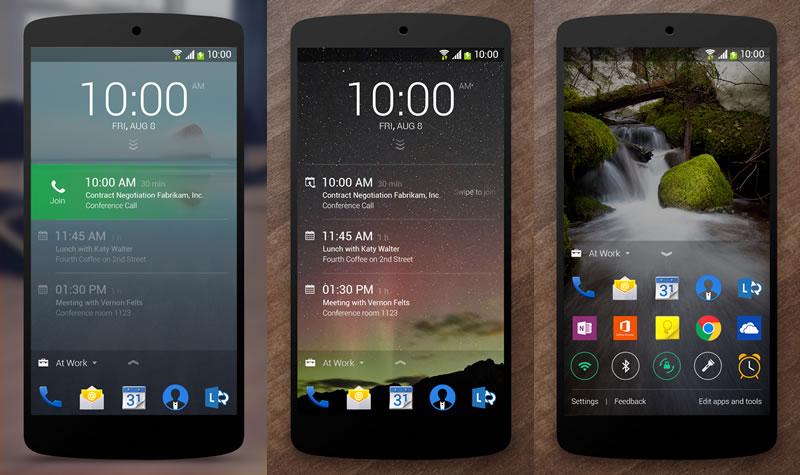 Next Lock Screen, la pantalla de bloqueo de Microsoft para Android - Next-Lock-Screen-Android-Microsoft