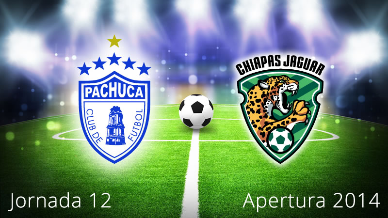 Pachuca vs Chiapas, Jornada 12 Apertura 2014 - Pachuca-vs-Chiapas-en-vivo-Apertura-2014-Jornada-12