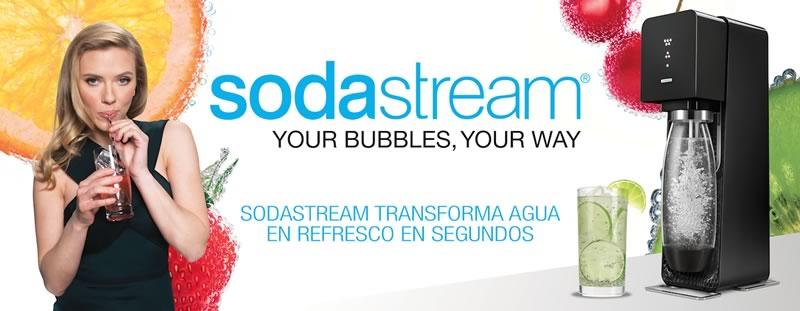 SodaStream: La máquina para hacer refrescos llegó a México - SodaStream-Mexico