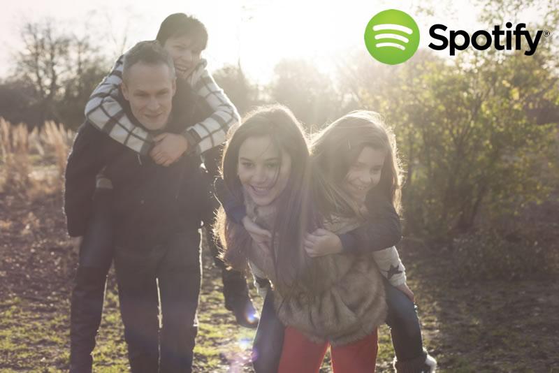 Spotify Family: El nuevo plan de Spotify para familias - Spotify-Family