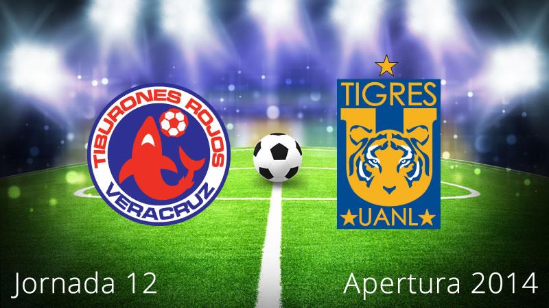 Tigres vs Veracruz, Jornada 12 Apertura 2014 - Tigres-vs-Veracruz-en-vivo-Apertura-2014-Jornada-12