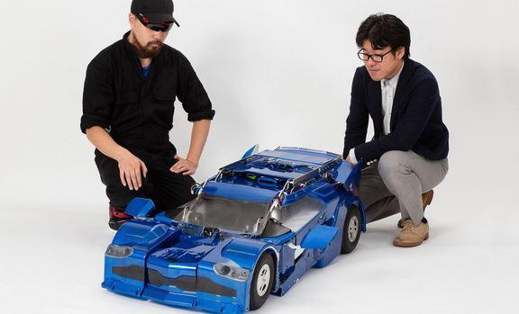 Crean un impresionante robot transformer a escala - Transformer-a-escala-J-Deite