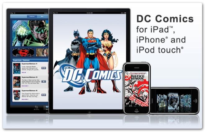 Apps para leer cómics desde tu iPhone o iPad - dc-comics-app