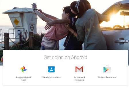 Google publica una guía para ayudarte a pasar de iPhone hacia Android