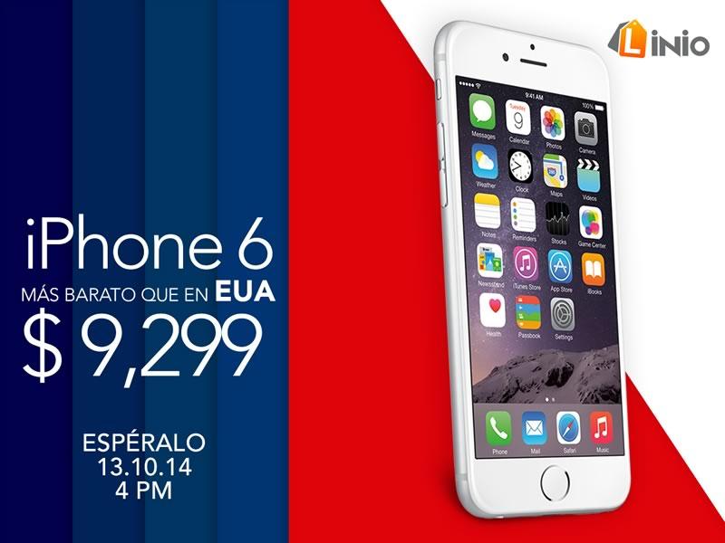 Podrás comprar el iPhone 6 más barato que en Estados Unidos por tiempo limitado en Linio ¡Aprovecha! - iPhone-6-Linio