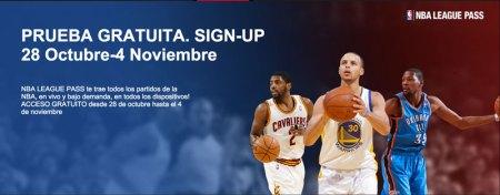 NBA League Pass gratis hasta el 4 de noviembre