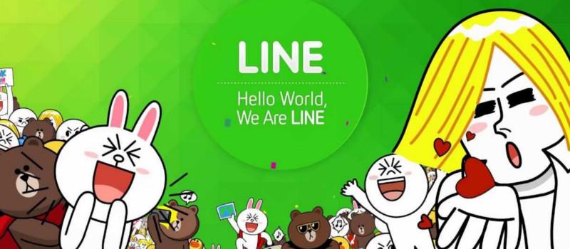 Line solo tiene un 30% de usuarios activos al mes - usuarios-line