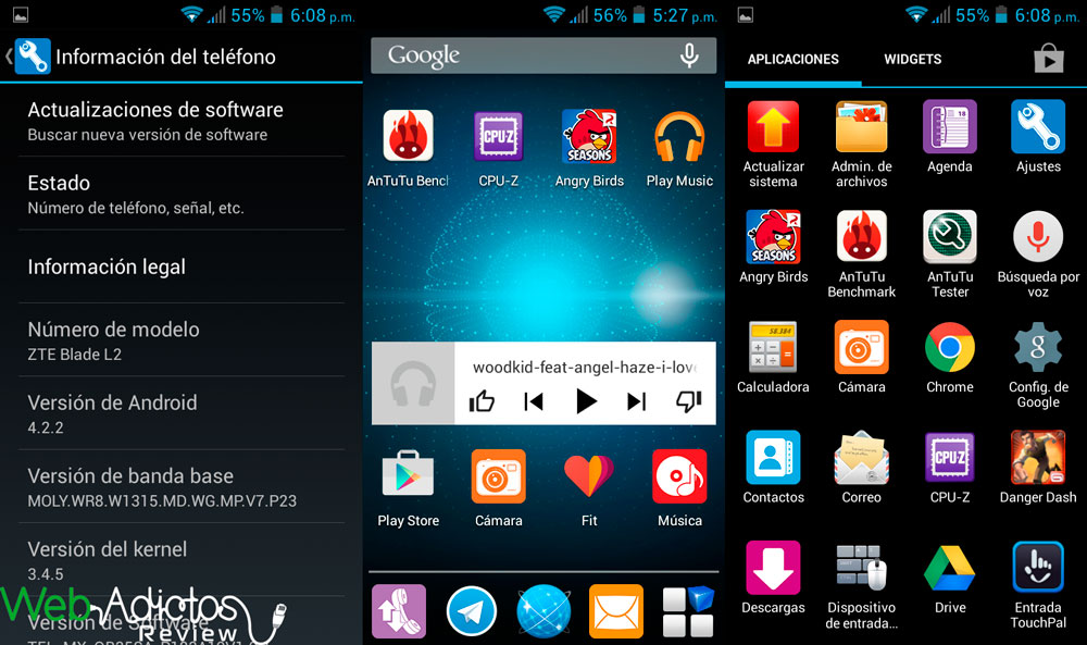 ZTE Blade L2, un smartphone económico pero con grandes prestaciones [Reseña] - zte-blade-l2-1