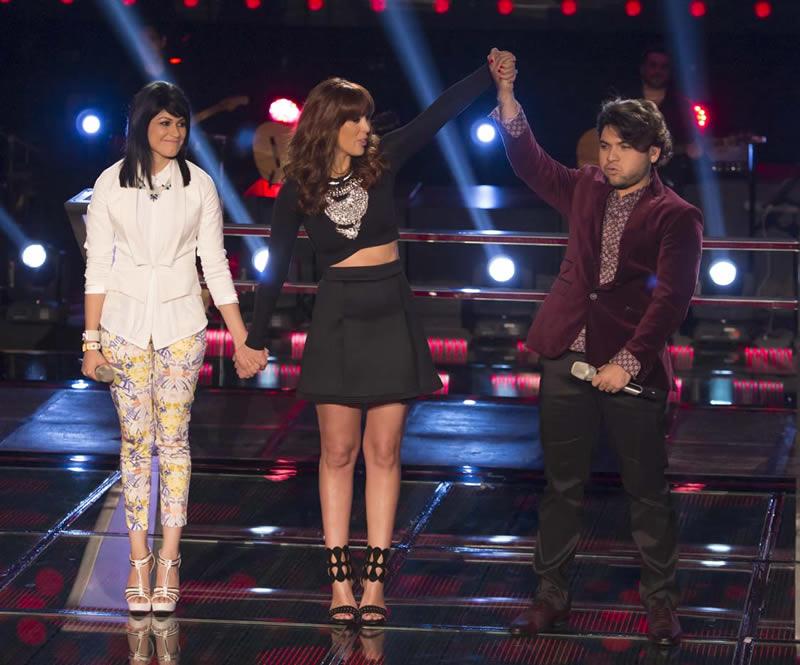 Las batallas de La Voz México 2014 concluyeron - 3-Luis-Armando-y-Jennifer-La-Voz-Mexico-2014