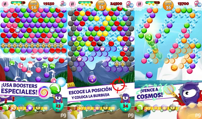 Bubble Guriko Divertido Juego Para Ios Y Android