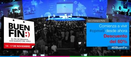 Campus Party México le entra al Buen Fin 2014 con un 60% de descuento en sus entradas