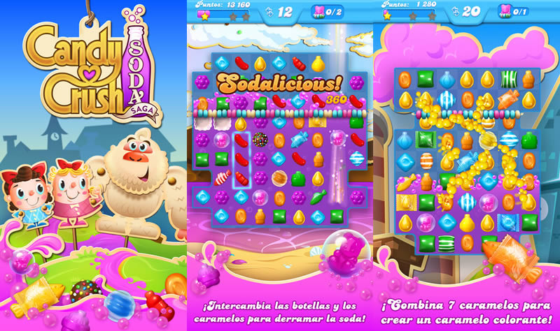 Candy Crush Soda Saga Llega A Android Y Ios
