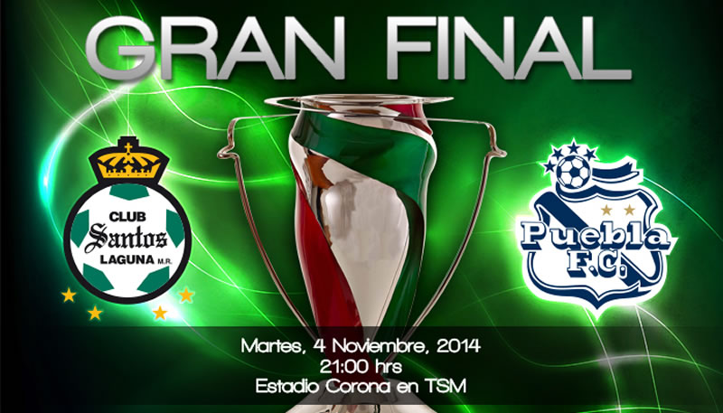 Santos vs Puebla, Final de la Copa MX Apertura 2014 - Final-Santos-vs-Puebla-en-vivo-COPA-MX-Apertura-2014