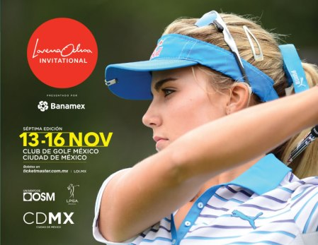 El torneo Lorena Ochoa Invitational será transmitido por internet
