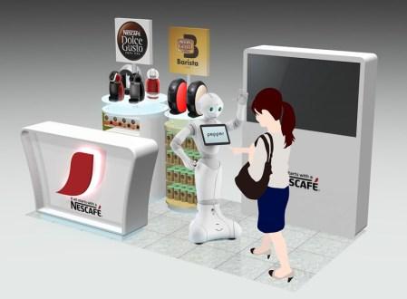 Pepper, el robot humanoide que venderá Nescafé en Japón