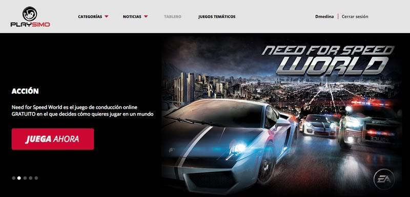 Lanzan Playsimo, una plataforma de juegos online gratis - Playsimo-Juegos-gratis