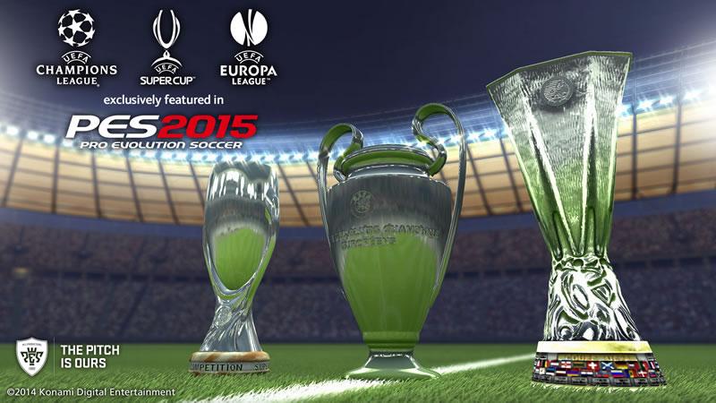 Pro Evolution Soccer 2015 prepara su salida este 13 de noviembre - Pro-Evolution-Soccer-PES-2015-Torneos