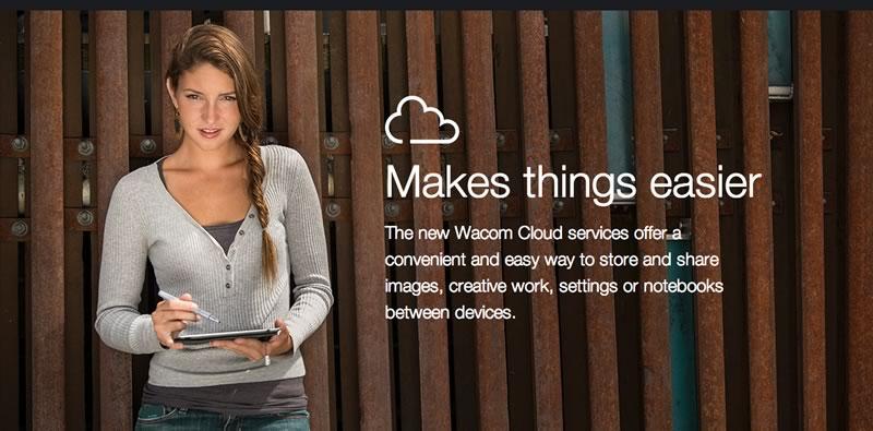 Wacom lanza servicios de almacenamiento en la nube - Wacom-Dropzone