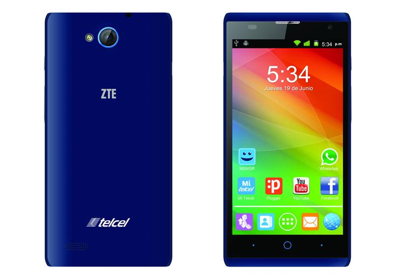 Blade G Lux, el nuevo smartphone de ZTE presentado en México - ZTE-BLADE-G-LUX-AZUL