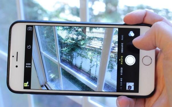 iPhone 6 ahora es acusado de tener problemas en su cámara - camiseta-negra