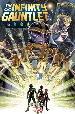 Civil War y Age of Ultron: Los misteriosos teasers de Marvel - infinity-gauntlet-2015-109898-296x450