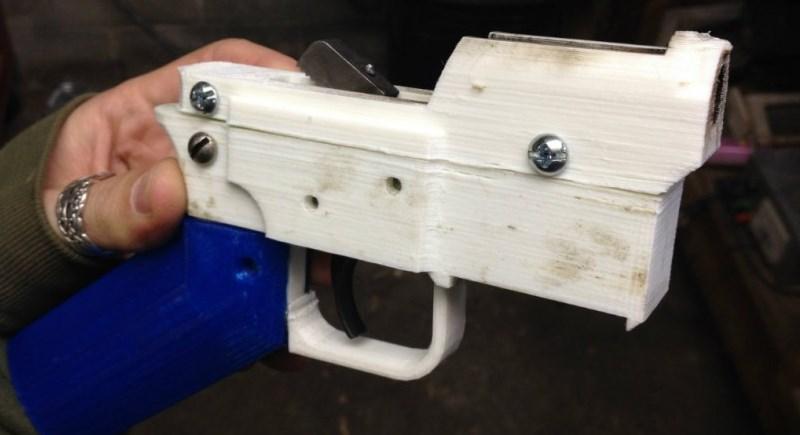 Impresión de pistolas en 3D cada vez más preocupante - pistolas-impresas-en-3d