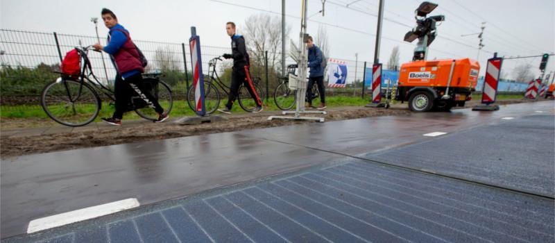 SolaRoad, el proyecto que utiliza las calles para acumular energía solar - solaroad