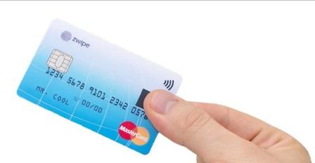 MasterCard presenta tarjeta con sensor dactilar