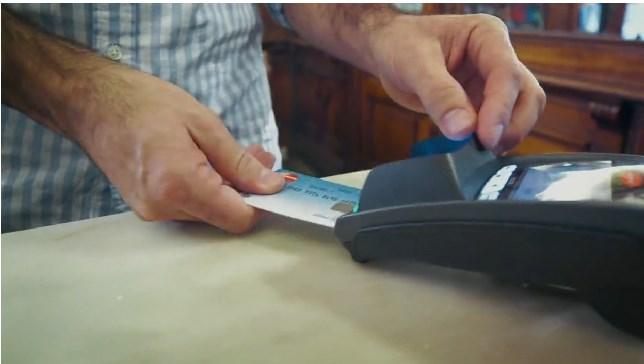 MasterCard presenta tarjeta con sensor dactilar - tarjetas-huella-dactilar