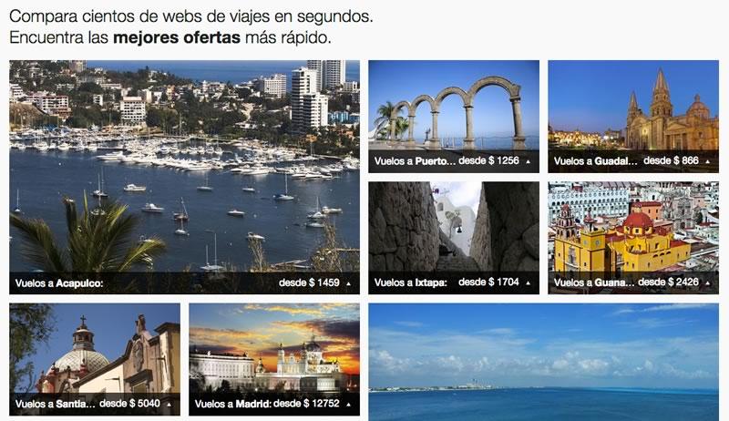 El buscador de viajes KAYAK, se lanza al mercado mexicano - Buscar-ofertas-en-vuelos