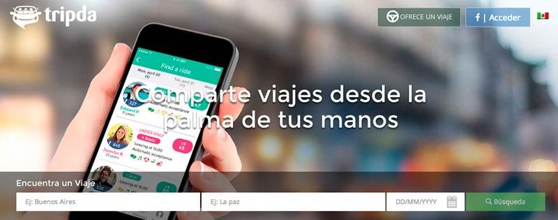 Tripda, el servicio para compartir auto llega a México - Compartir-viajes-Tripda