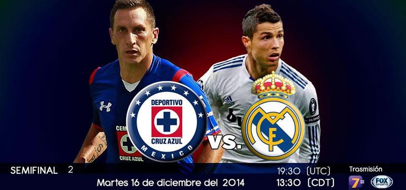 Cruz Azul vs Real Madrid en el Mundial de Clubes 2014 - Cruz-Azul-vs-Real-Madrid-en-vivo-Mundial-de-Clubes
