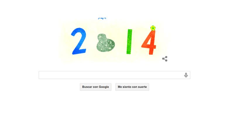 Temas del momento 2014, el doodle para despedir el año - Doodle-Google-31-de-Diciembre-800x388