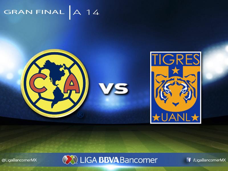 Definida la Final del Apertura 2014; Conoce sus horarios y fechas - Horario-de-la-final-del-Apertura-2014-America-vs-Tigres