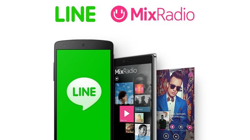 LINE adquiere el servicio de streaming de música MixRadio - LINE-MixRadio