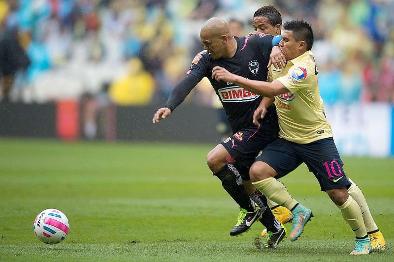 Monterrey vs América, en la semifinal del Apertura 2014 (Partido de ida) - Monterrey-vs-America-en-vivo-Semifinal-Apertura-2014