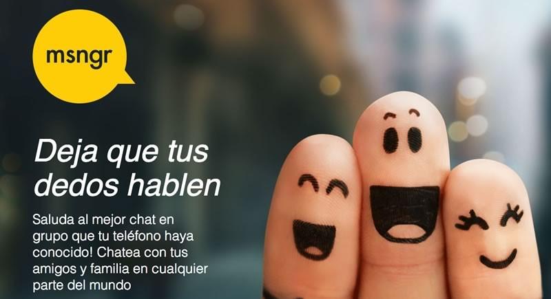 msngr ahora estará en operadoras de Telefónica en Latinoamérica - Msngr-chat-Telefonica-Movistar-800x435