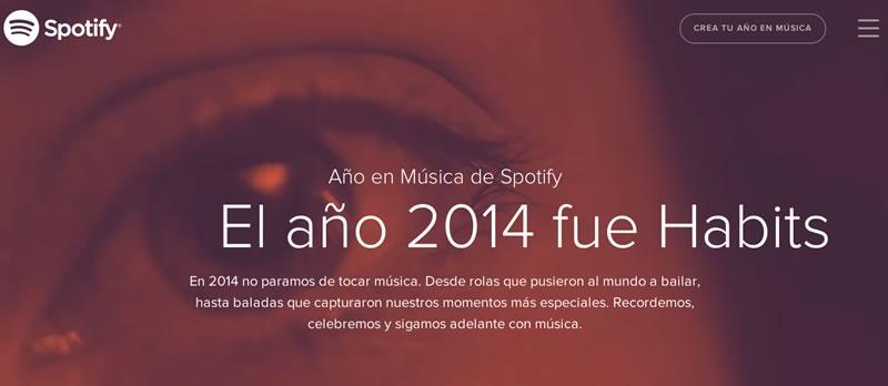 Spotify presenta la música más escuchada en 2014 - Musica-mas-escuchada-en-2014-en-Spotify
