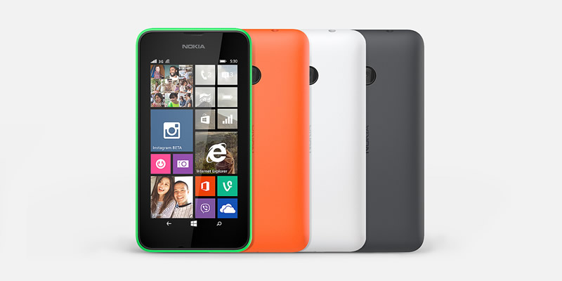 Ideas de regalos geek para sorprender esta navidad - Nokia-Lumia-530-en-Mexico