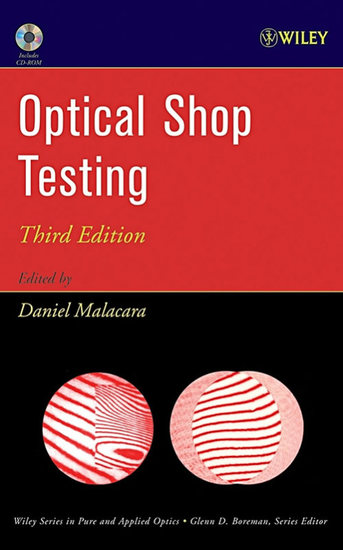 Uno de los libros de óptica más consultados es Mexicano - Optical-Shop-Testing-Portada-499x800