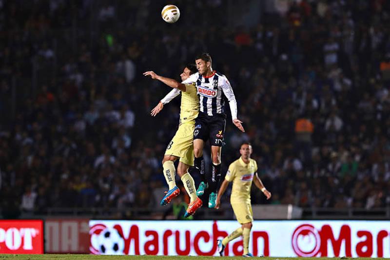 Las Águilas van que vuelan a la final; mientras que con Tigres y Toluca aún no hay nada claro - Resultado-Monterrey-vs-America-Semifinal-Apertura-2014-IDA