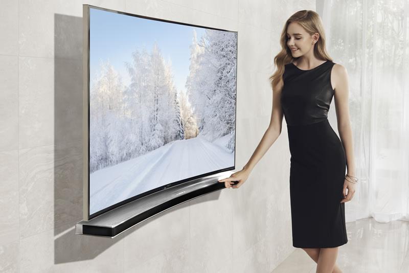 Samsung lanza en México su soundbar para TV curva - Samsung-Soundbar