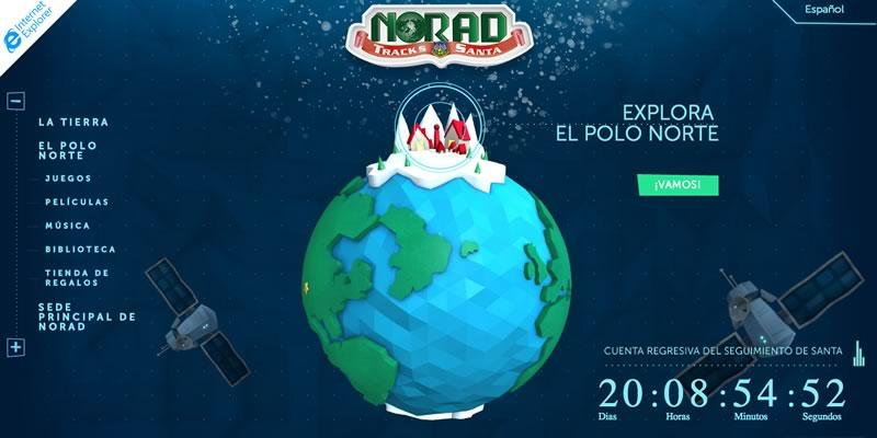 Sigue la ruta de Santa esta navidad con NORAD y Microsoft - Seguir-a-Santa-NORAD-Microsoft