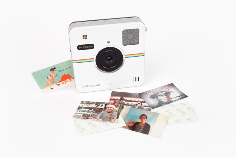 Socialmatic, la nueva cámara de fotos instantáneas de Polaroid llega en Enero y ya puedes preordenarla  - Socialmatic-Polaroid
