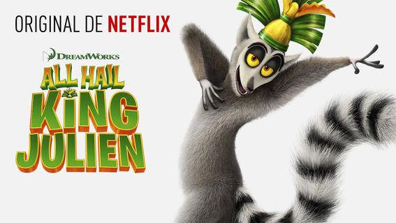 Conoce los estrenos de Netflix durante Diciembre - Viva-el-rey-julien