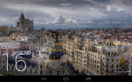 Yahoo Tiempo para Android se actualiza con pronósticos más reales
