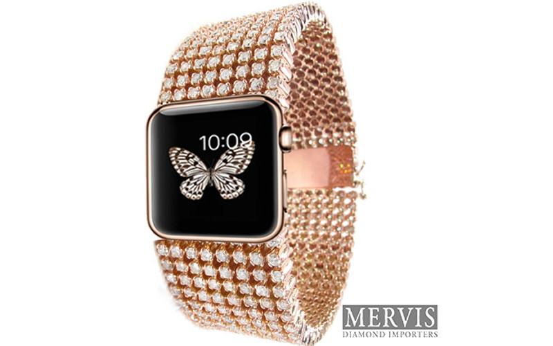 Versión de Apple Watch con diamantes por 30,000 dólares - apple-watch-diamantes