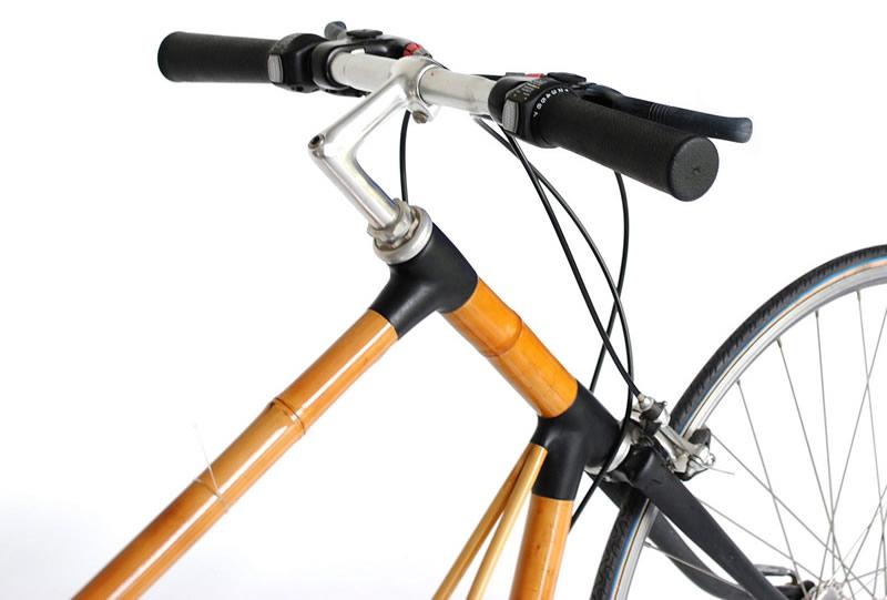Diseñan bicicleta de bambú que recarga tu smartphone - bicicleta-de-bambu