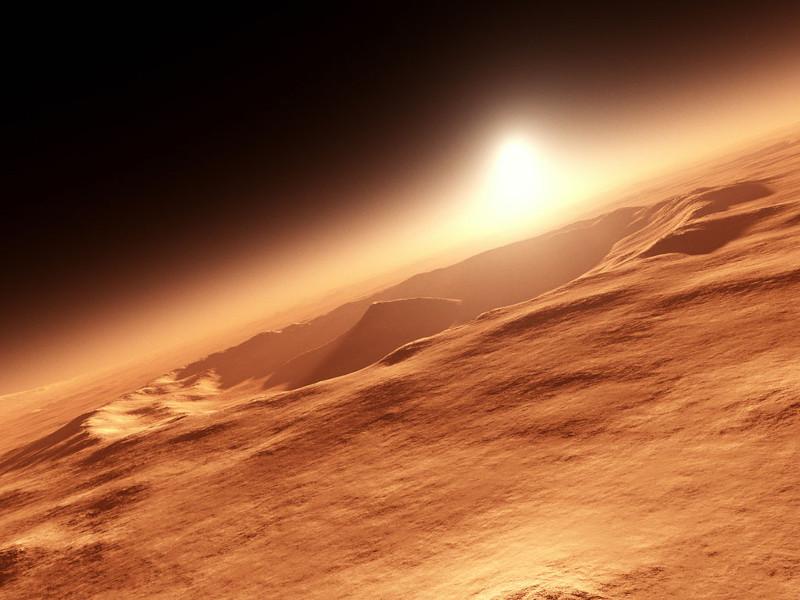 El agua sola en Marte no sería suficiente para la vida - vida-en-marte