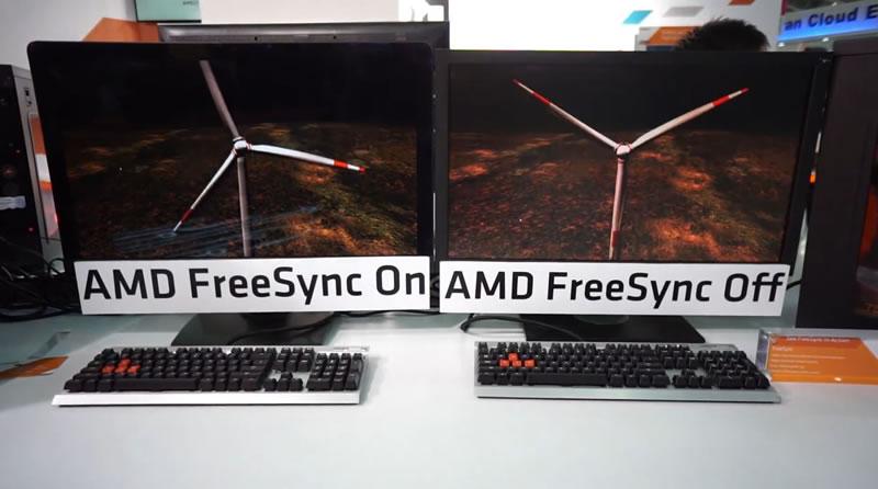 Primeras pantallas habilitadas con FreeSync son presentadas en CES 2015 - AMD-FreeSync